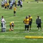 The guys @ Steelers Practice